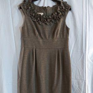 London Times grey short dress